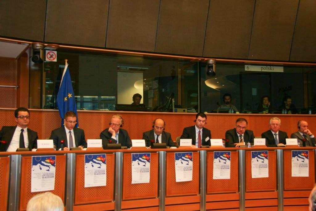 Basha ne konferencen e PPE ne Bruksel